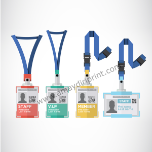 Identity Card with Cotton lanyard and Card Holder