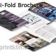 printklinA4 biFold brochure