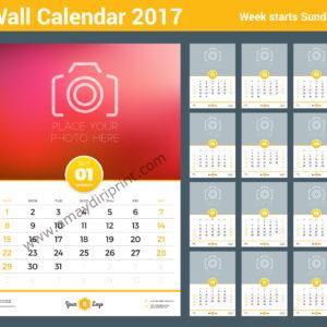 Wall Calendar A3 (11.7'' x 16.5'')