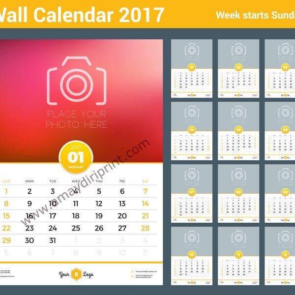wall calendar a3 11 7 x 16 5 printers in lagos print
